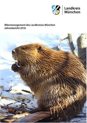 Cover: Bibermanagement des Landkreises München Jahresbericht 2016