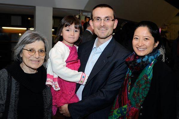 Foto: Neueingebürgerte Familie von Yunbei Li