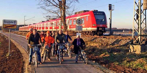 Erste Radhauptverbindung im Landkreis München