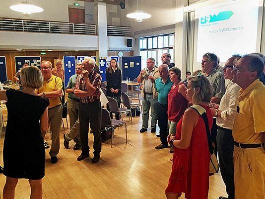 Foto: Mehr als 30 Teilnehmer hatten sich in Ottobrunn eingefunden, um ihre Expertise, ihre Wünsche und Bedarfe in den Prozess mit einzubringen.