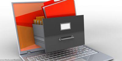 Foto: Das Jobcenter im Landratsamt München führt die e-Akte ein.