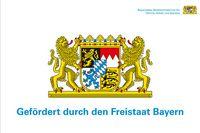 Bild: Förderlogo Bayerisches Staatsministerium für Familie, Arbeit und Soziales