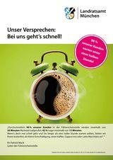Foto: Plakat Führerscheinstelle
