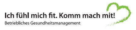 Foto: Logo des Betrieblichen Gesundheitsmanagements