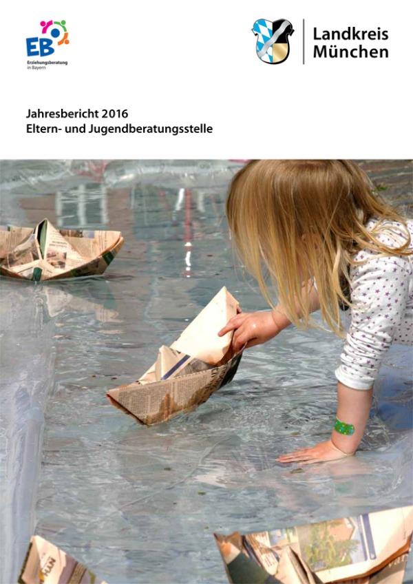 Cover: Eltern- und Jugendberatungsstelle - Jahresbericht 2016