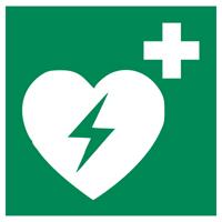 Grafik: Defibrillator-Symbol