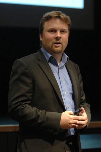 Foto: Auftakt Klimaschutzkonzept, Referent Herr Fieger