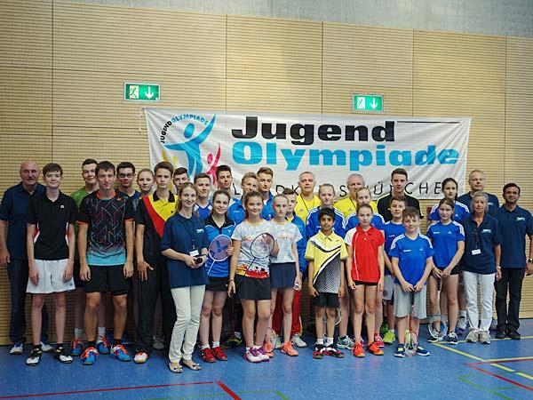 Foto: Jugend-Olympiade 2016: Badminton