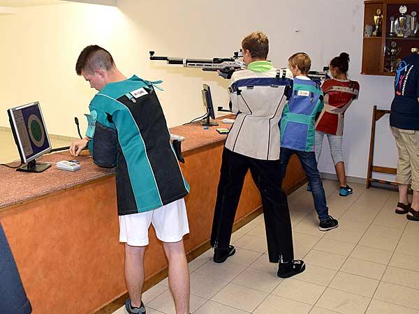 Foto: Jugend-Olympiade 2016: Schießen