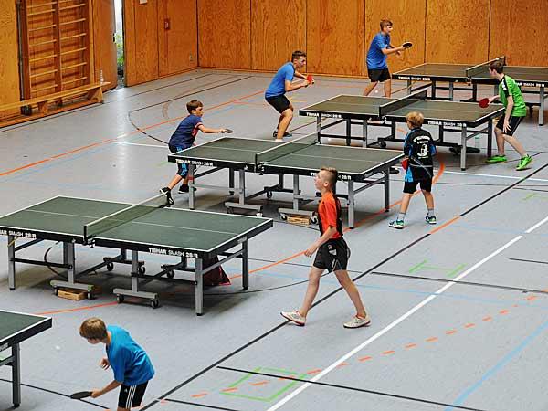 Foto: Jugend-Olympiade 2016: Tischtennis