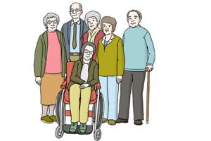 Bild: Alte Menschen