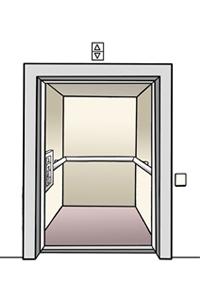 Bild: Aufzug