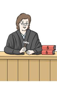 Bild: Richterin