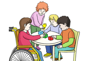 Bild: Gruppe Kinder