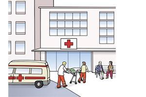 Bild: Krankenhaus