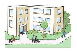 Bild: Pflegeheim