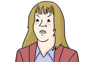 Bild: Wütende Mutter
