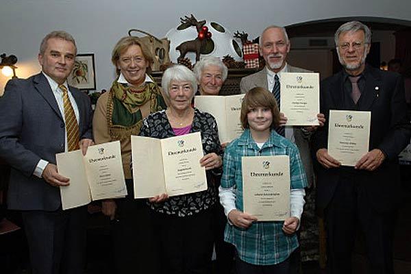 Foto: Die Preisträger der Umweltehrung 2010