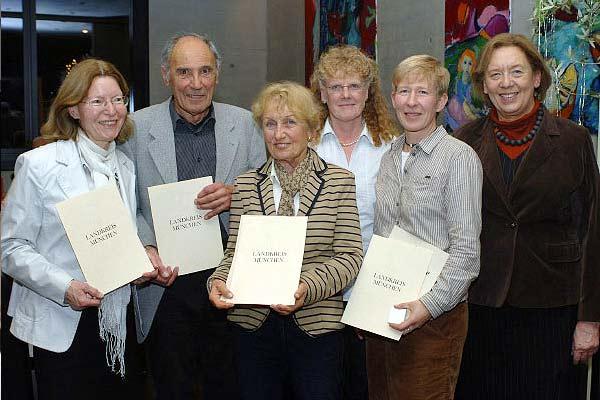 Foto: Die Preisträger der Umweltehrung 2011