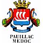 Foto: Wappen der Stadt Pauillac im Médoc