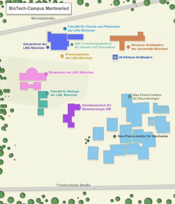 Grafik: Bio Techcampus Martinsried