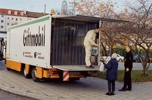 Foto: Giftmobil Fahrzeug