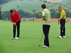 Foto: Golf Jugend-Olympiade 2010 Krakau