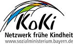 Grafik: Logo KoKi vom Sozialministerium Bayern