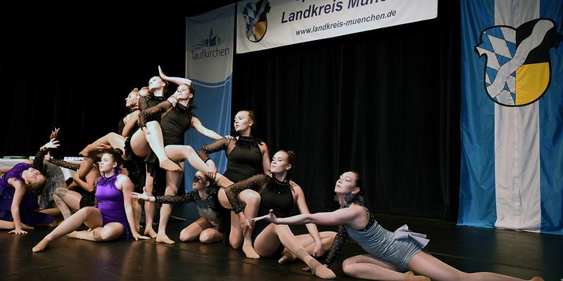 Foto: Tanzeinlage der Gruppe Funky Dancers