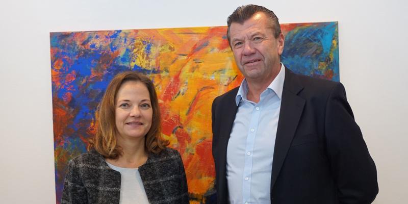 Foto: Dr. Tina Emslander und Christoph Leicher