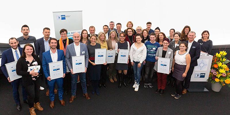 Foto: Festabend der IHK für München und Oberbayern für die Top-Bildungspartnerschaften