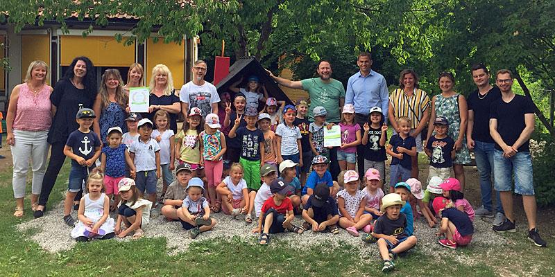 "AWO-Kindergarten ""Blauland"" in Kirchheim zum ""Haus der kleinen Forscher"" zertifiziert"