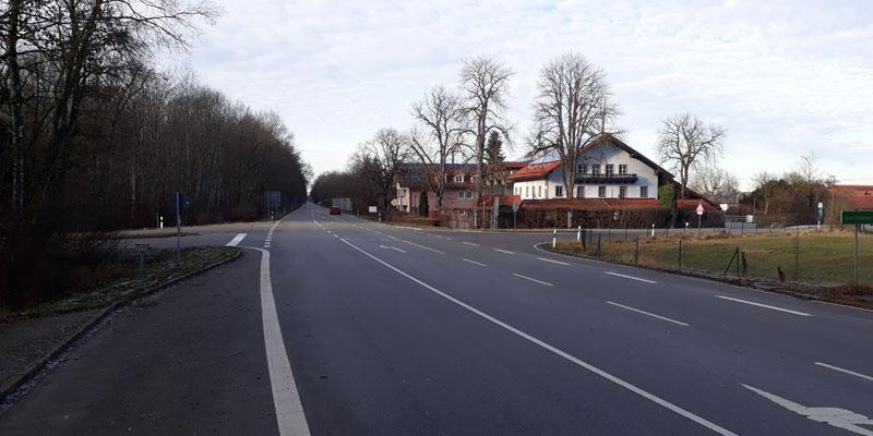 Mehr Sicherheit an Grasbrunner Kreuzung