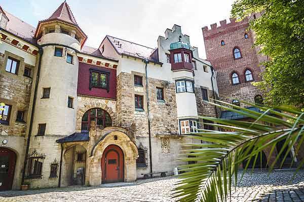 Foto: Burg Schwaneck Pullach