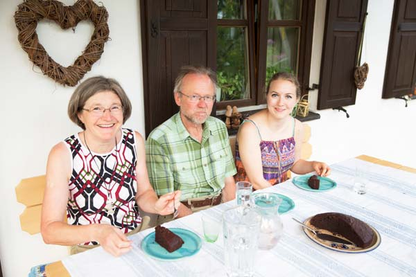 Foto: Ehepaar Daberger mit Verena