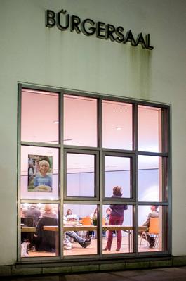 Foto: Erstinformationsabend Haar - Blick in den Raum