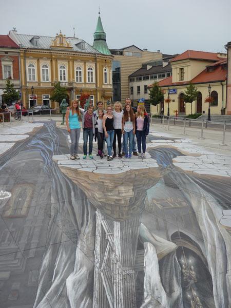 Foto: Häusler; Besuch in Krakau - Turnerinnen des VfR Garching