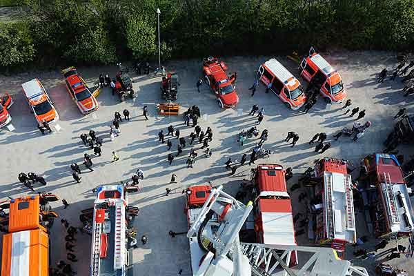 Foto: Fahrzeugschau der Feuerwehr
