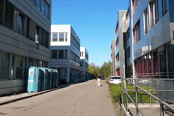 Foto: Notunterkunft Dornach