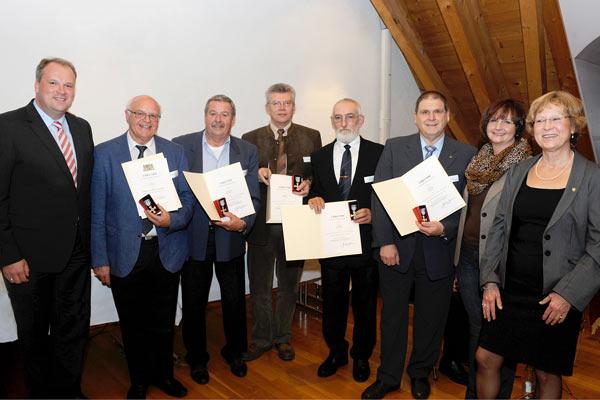 Foto: Ehrung vom Bayerischen Roten Kreuz (BRK)